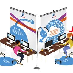 Stand Pôle Emploi- forum 2016