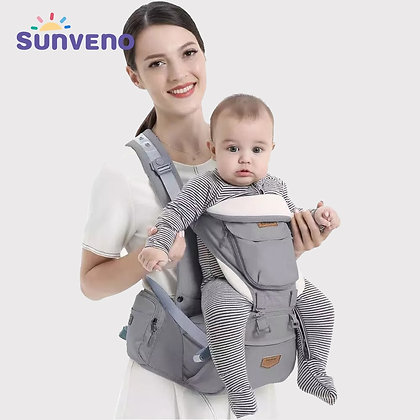 Suporte para bebê canguru mochilas tipo estilingue para bebês