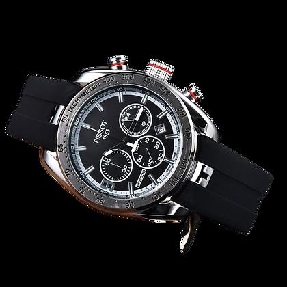 Tissot PRS 330 (preto/prata)