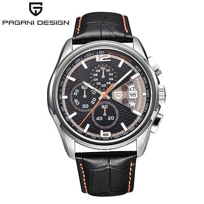Watches Luxury Brand Multifunction Quartz Chronograph Sport Steel Shell
