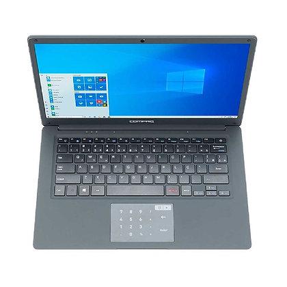 "Notebook Compaq CQ-25 Intel Pentium N3700 4GB 120GB SSD Tela 14"" Windows 10 Cinz"