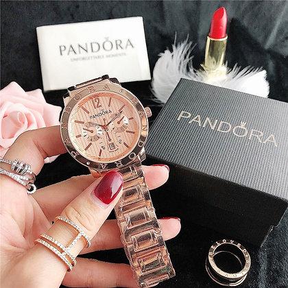 relógio feminino pandora rose gold 1:1