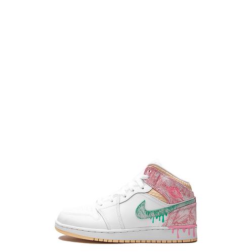 Nike Air Jordan 1 Mid Paint Drip