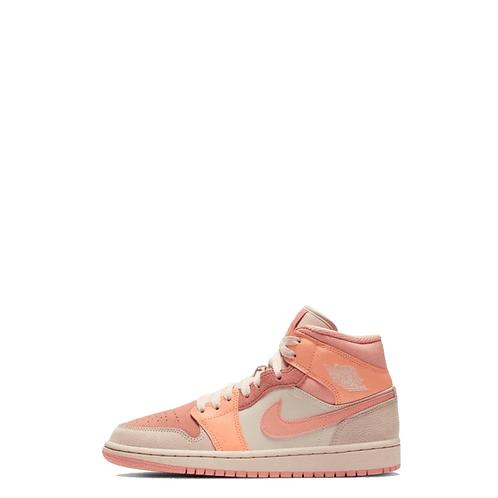 Nike Air Jordan 1Mid Apricot Orange