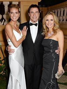 Heidi Klum John Travolta Villa St George