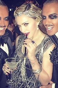 Madonna birthday party Villa St George 2014