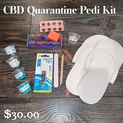 CBD Quarantine Pedicure Kit