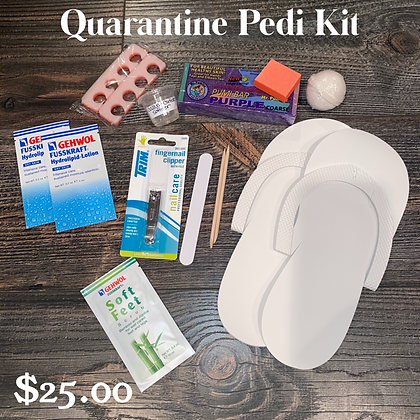 Quarantine Pedicure Kit