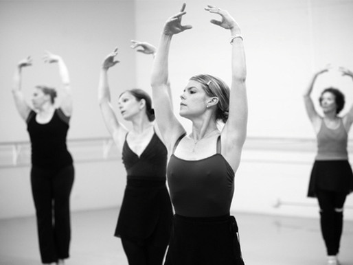 Não tema o ballet adulto