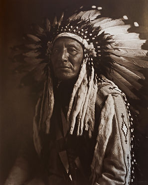 Chief in Full Headress