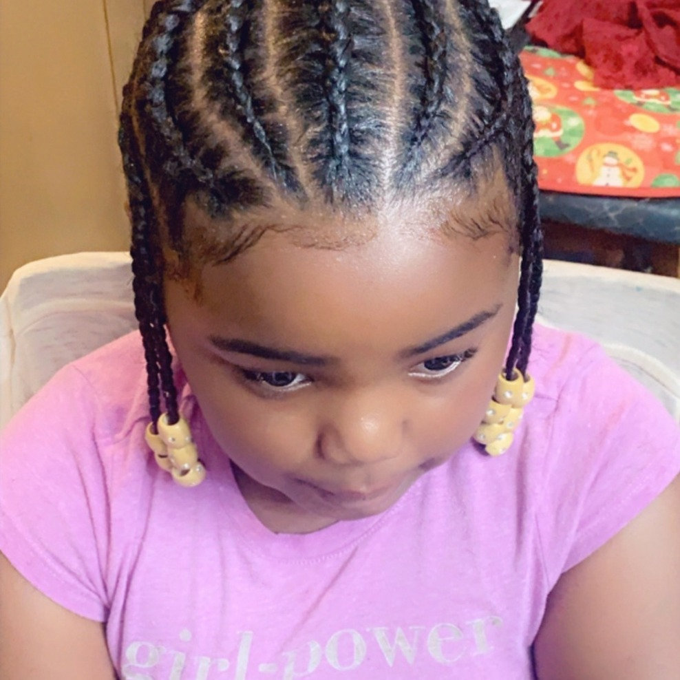 Kids Natural Styles w/ Added Hair
