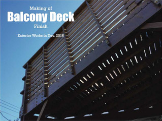 Balcony Deck / Finish