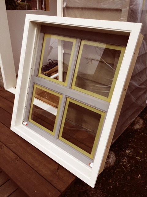 Original Double Hung Window