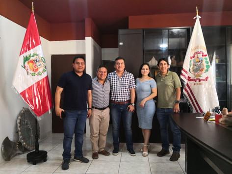 Alcalde de Moche solicita puentes peatonales al Ministerio de Transportes y Comunicaciones - MTC
