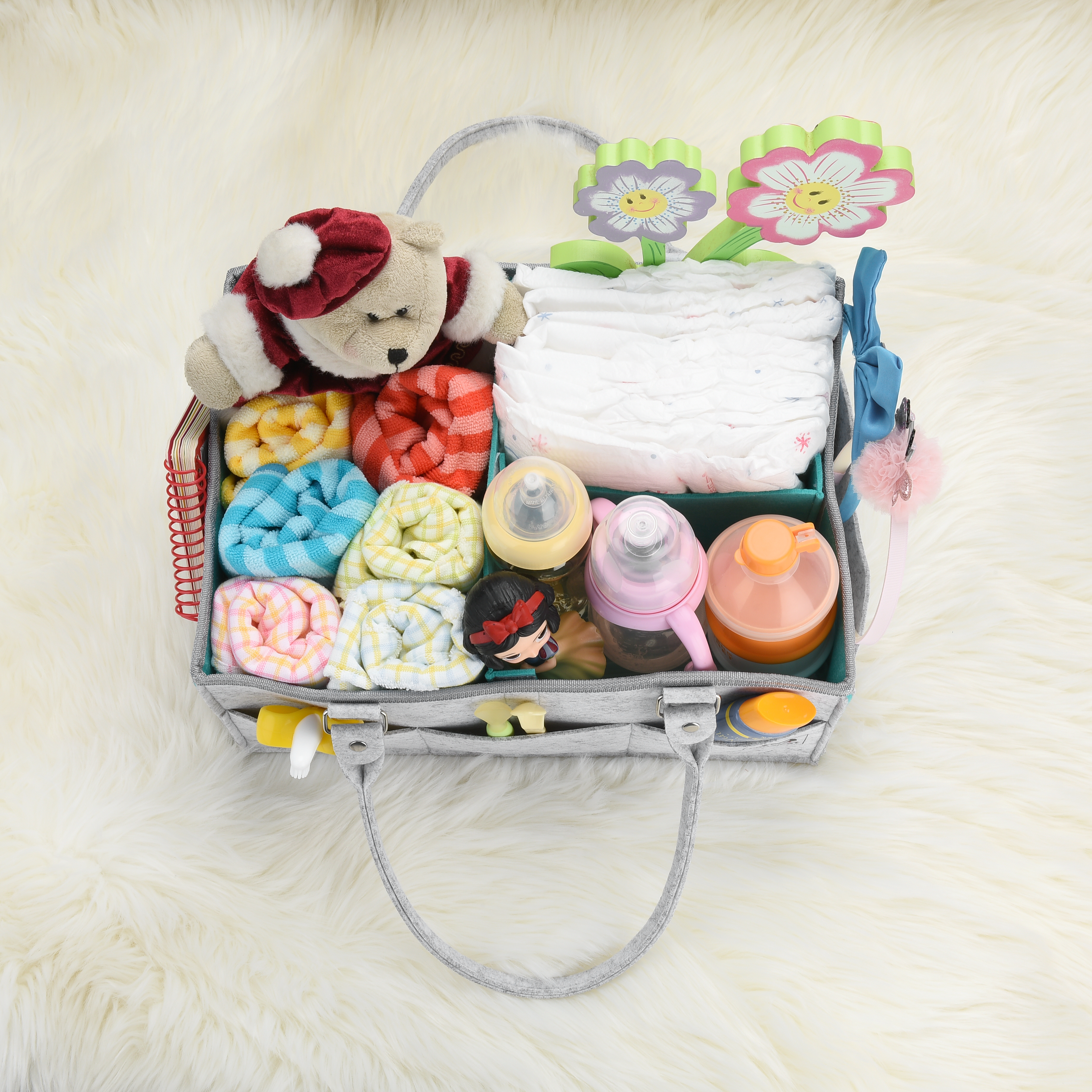 Nursery Organizer And Baby Diaper Caddy Nursery Décor Hanging Diaper Organization To Produce An Effect Toward Clear Vision