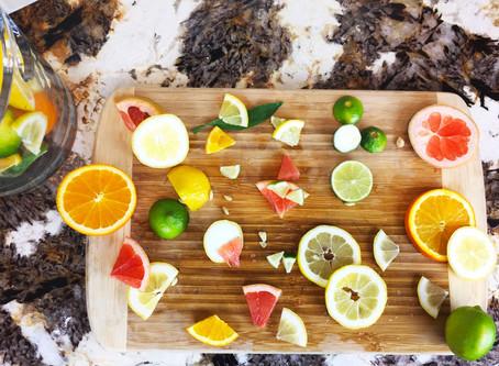 Citrus Tablescapes and Centerpieces