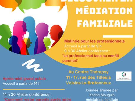 Découvrir la médiation familiale samedi 16 octobre 2021