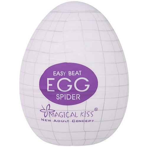 Maturbador masculino Egg SPIDER - Magical Kiss