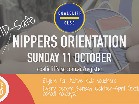 Nippers Orientation & Online Rego