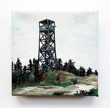 St. Regis Fire Tower, 2019