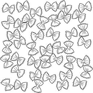 Pasta Pattern: Farfalle, 2019