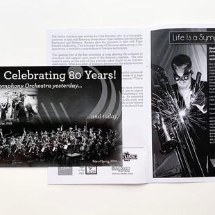 Vermont Symphony Orchestra Program, 2014