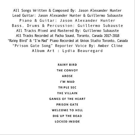 The Uper Tunist Album Credits, Pacha Sound, Guillero Saubauste, Jason Hunter Music