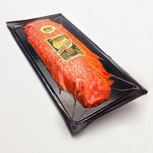 Alaska Rotlachs, Portion geräucht, geschnitten, 500g