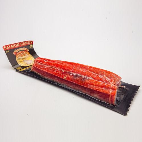 Alaska Rotlachs, Candy  (geräucht & getrocknet), 100g