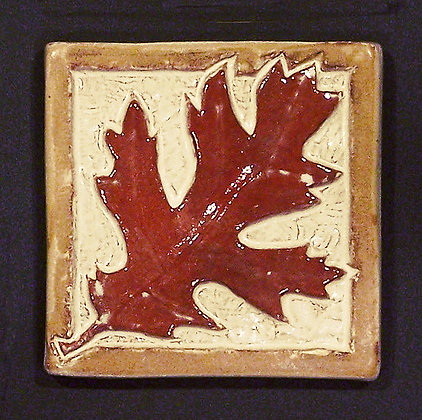 OAK LEAF (RED) 4X4