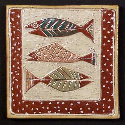 THREE FISH 6X6