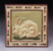 Hare 6x6 tile, links to BACKYARD/BARNYARD page