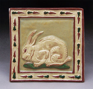 Hare 6x6 tile, links to BACKYARD/BARNYARD page