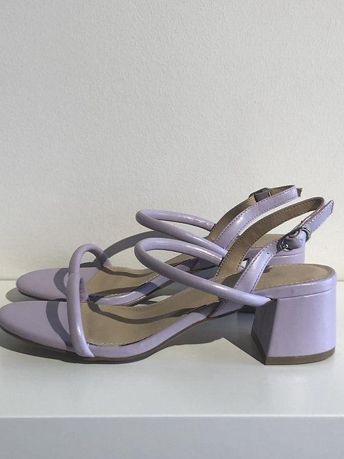 VW Sandals Block Heel Lila