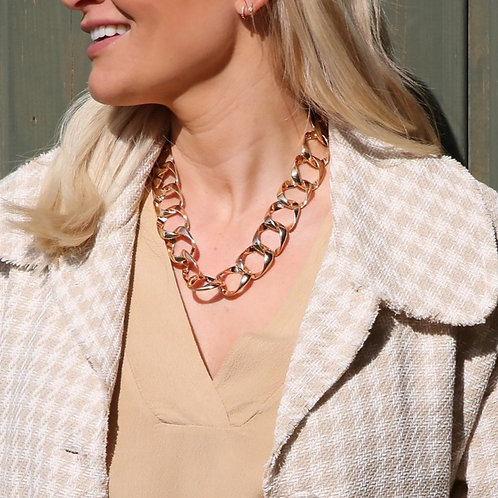 Fedra Necklace Gold