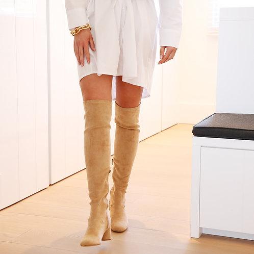 Charlotte Boots Beige