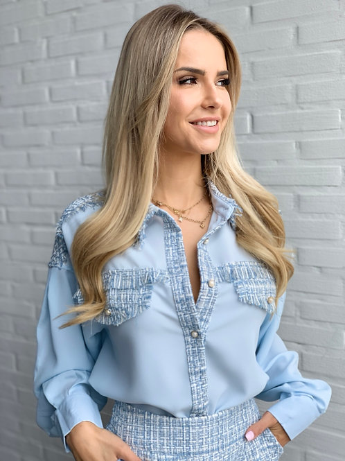 Chani blouse Blue
