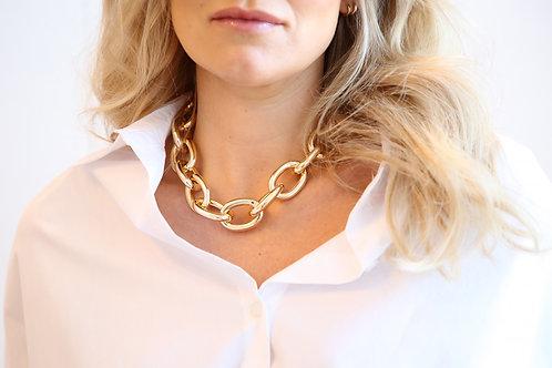 Spotty Necklace Gold