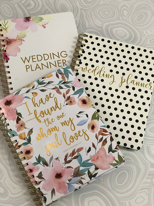 Mary Square Wedding Planner Spiral Notebook