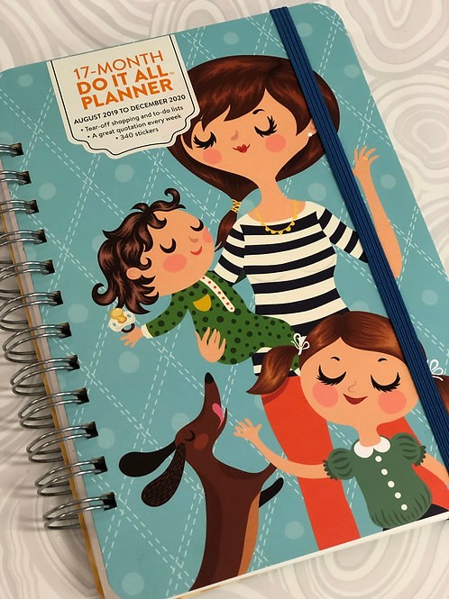Mom Do It All 2020 Planner - 17 month