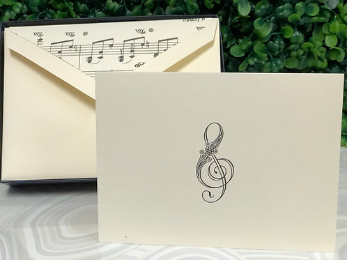 Notecards - Treble Clef