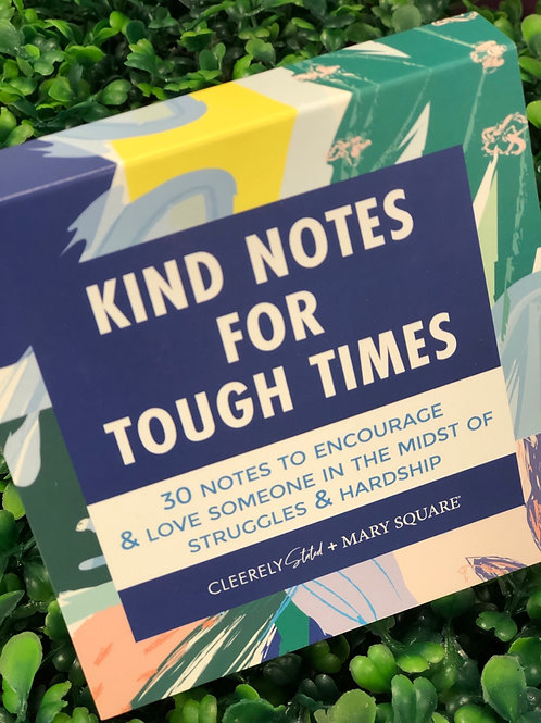 Card Booklet - Kind Words for Tough Times