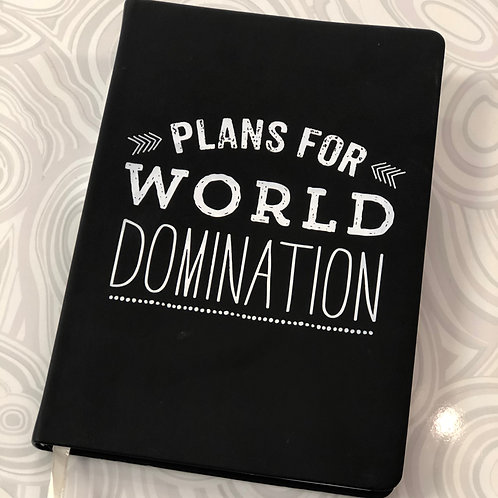 Plans for World Domination Journal