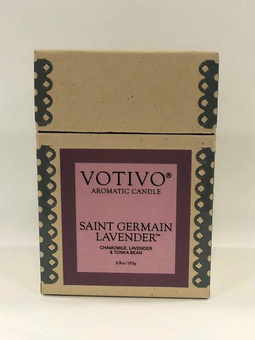 Votivo - St. Germaine Lavender Glass
