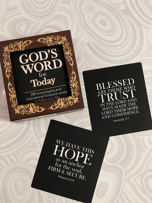 God's Word for Today Encouragement Cards Set