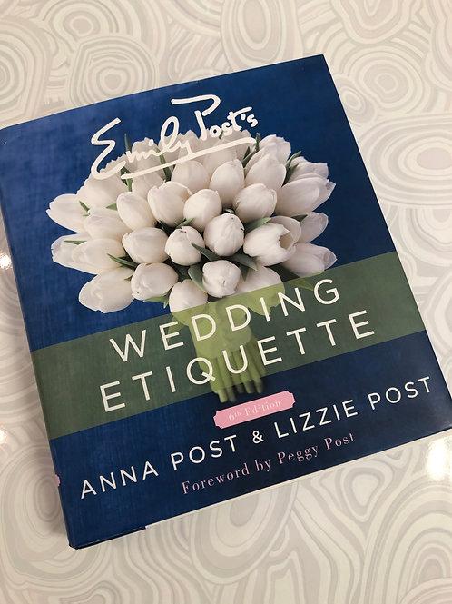 Emily Post Wedding Etiquette