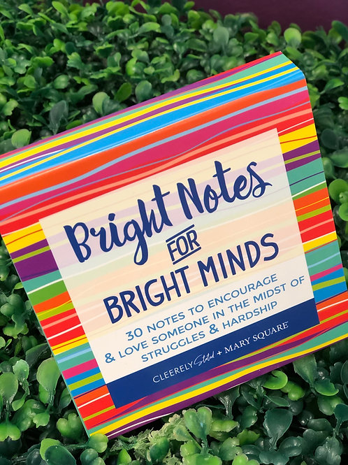 Card Booklet - Bright Notes for Bright Minds