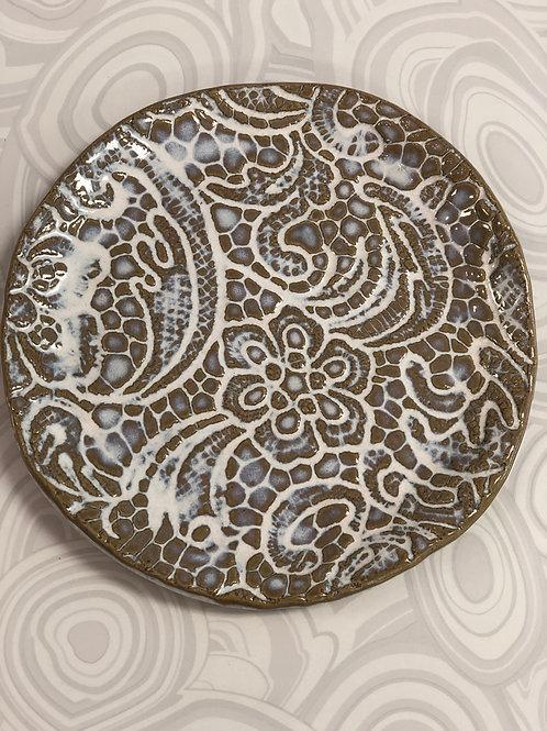 Tab Boren Lace Plate - small