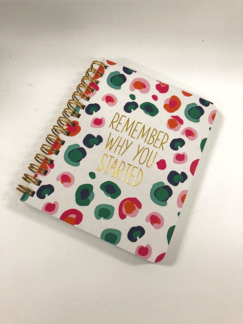 Mary Square Mini Spiral Notebook