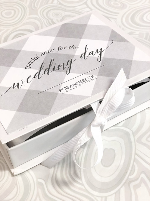 Wedding Day Notecard Boxed Set